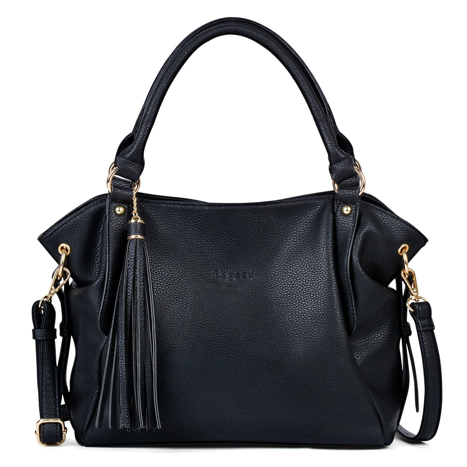 Womens Large Capacity Tassel Handbag