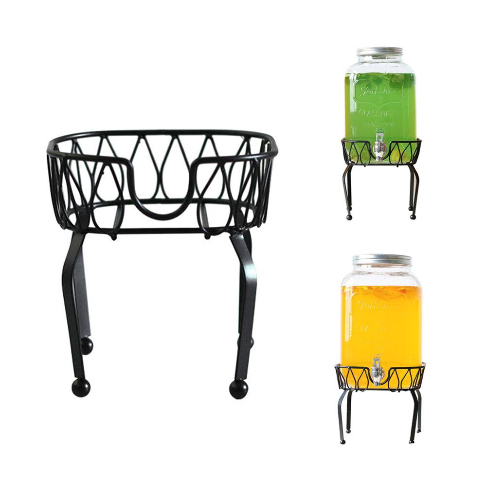 bebidas t/é botella de cerveza taza caf/é platillo dise/ño de clip para oficina en casa Soporte para taza de bebida de Hollihi dise/ño de clip para mesa de cristal de agua