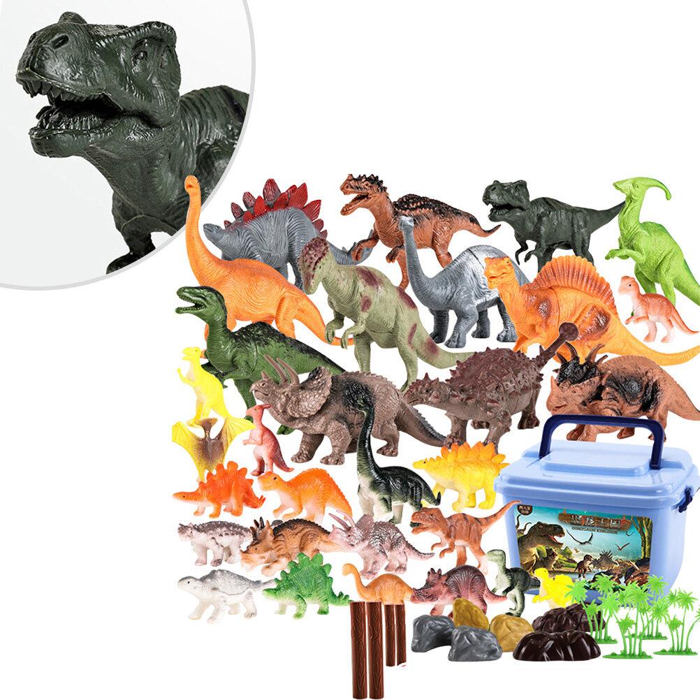 Animaux En Plastique Jouet jouet figurine dinosaure animaux plastique modèle decoration