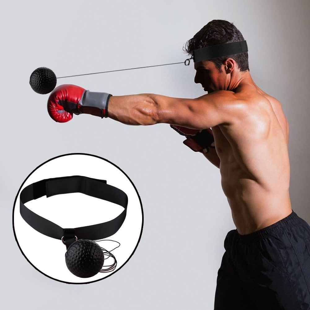 MMA Training Boxing Head Speed Tennis Ball Punch Reflex Fitness Focus Boxing